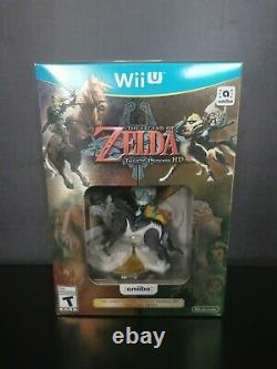 New The Legend of Zelda Twilight Princess HD Wii U 2016 Wolf Link Amiibo