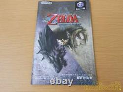 Nintendo GameCube The Legend of Zelda Twilight Princess Game Cube Japan Import