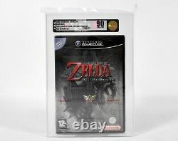 Nintendo GameCube, The Legend of Zelda Twilight Princess, VGA Gold 90 NM+/MT