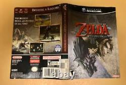 Nintendo Gamecube The Legend Of Zelda Twilight Princess 100% Tested