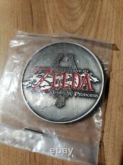Nintendo THE LEGEND OF ZELDA TWILIGHT PRINCESS rare coin 2005 COMIC-CON SDCC new