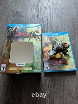 Nintendo The Legend of Zelda Twilight Princess HD Wii U + Wolf Link Amiibo