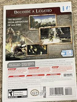 Nintendo Wii Legend Of Zelda Twilight Princess New Sealed 2006 First Print