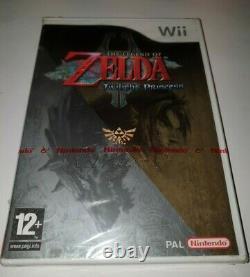 Nintendo Wii The Legend Of Zelda Twilight Princess Neuf Sous Blister