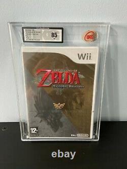 Nintendo Wii The Legend of Zelda Twilight Princess Factory Sealed VGA/UKG 85 NM