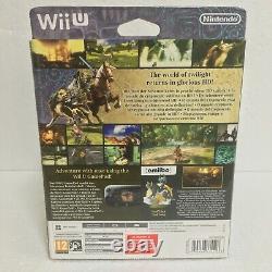 Nintendo Wii U Legend of Zelda Twilight Princess HD Boxset Factory Sealed PAL