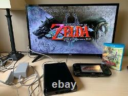 Nintendo Wii U Legend of Zelda Wind Waker 32GB Console with Twilight Princess HD
