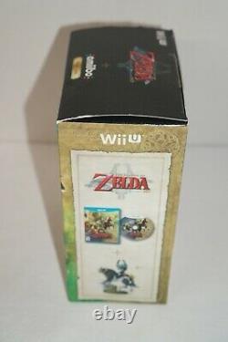 Nintendo Wii U The Legend of Zelda Twilight Princess HD Wolf Link Amiibo Read