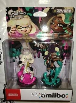 Pearl & Marina Splatoon 2 Pack Set Lot Amiibo US/USA/NA Nintendo New Sealed