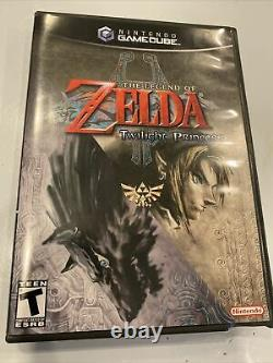 RARE! The Legend Of Zelda Twilight Princess (GameCube 2006) Complete Pristine