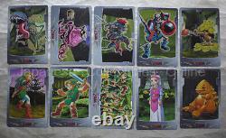 Rare LEGEND OF ZELDA twilight princess 77cards set complete