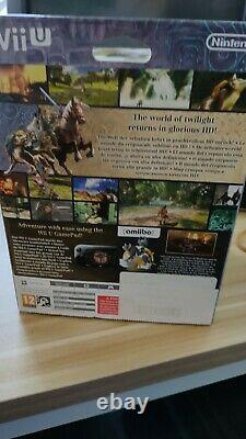Sealed Legend of Zelda Twilight Princess HD with Amiibo Limited Edition Wii U