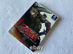THE LEGEND OF ZELDA Twilight Princess Nintendo Gamecube Japan retro video game