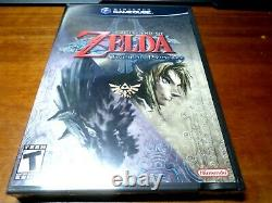 The LEGEND of ZELDA Twilight Princess (Nintendo Gamecube) SEALED Brand NEW Rare