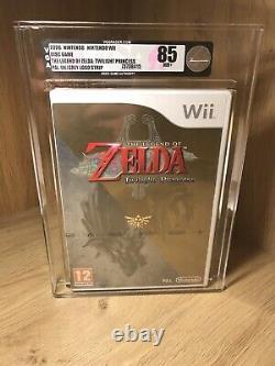 The Legend Of Zelda Twilight Princess 2006 Wii Europe PAL VGA Graded 85 NM