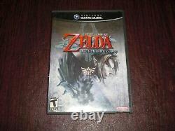 The Legend Of Zelda Twilight Princess COMPLETE Game For Nintendo GameCube System