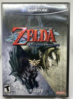 The Legend Of Zelda Twilight Princess GameCube