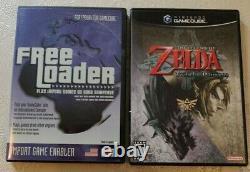 The Legend Of Zelda Twilight Princess GameCube NTSC-US + Free Loader Disc