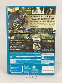 The Legend Of Zelda Twilight Princess HD Nintendo Wii U PAL