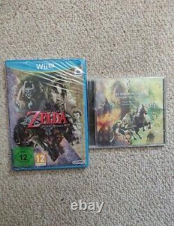 The Legend Of Zelda Twilight Princess HD (Wii U, 2016) NEWithSEALED + CD