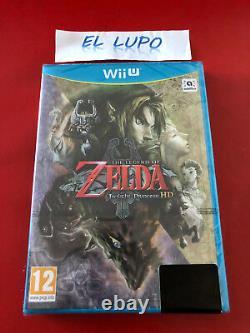 The Legend Of Zelda Twilight Princess Hd Neuf Sous Blister Nintendo Wii U Vf