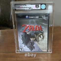 The Legend Of Zelda Twilight Princess. Nintendo GameCube. Brand New. VGA 85