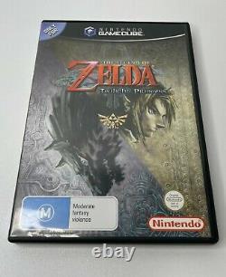 The Legend Of Zelda Twilight Princess Nintendo GameCube Game! Complete PAL AUS