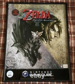 The Legend Of Zelda Twilight Princess Nintendo GameCube Wii Display Poster NFR