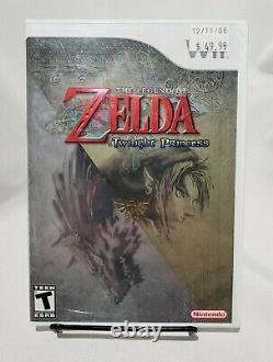 The Legend Of Zelda Twilight Princess Nintendo Wii New Factory Sealed 1st Print