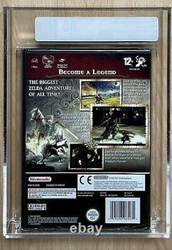 The Legend Of Zelda Twilight Princess VGA 85NM+ Gamecube PAL Rare Sealed