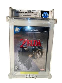 The Legend Of Zelda Twilight Princess Wata 9.4 A+ Factory Sealed // 2006 USA