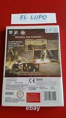 The Legend Of Zelda Twilight Princess Wii Nintendo Neuf Version Francaise
