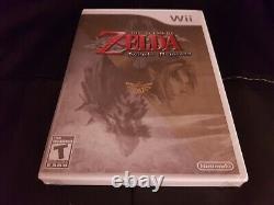 The Legend Of Zelda Twilight Princess Wii Nintendo Wii 2006 Brand New