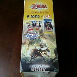 The Legend of Zelda 2007 Twilight Princess Booster Card Pack Box- Enterplay RARE