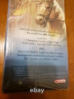 The Legend of Zelda 2007 Twilight Princess Gravity Box 48 Packs Enterplay Cards