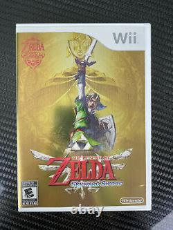 The Legend of Zelda Skyward Sword Twilight Wii Gold Remote Nunchuck Controller
