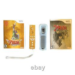 The Legend of Zelda Skyward Sword Wii Limited Gold Remote + Twilight Princess