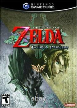 The Legend of Zelda The Twilight Princess (GameCube) Game 3AVG The Cheap