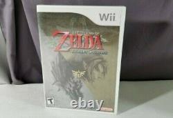 The Legend of Zelda Twilight Princess BRAND NEW SEALED Nintendo Wii 1ST PRINT