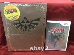 The Legend of Zelda Twilight Princess GAME + NEW COLLECTORS GUIDE LK