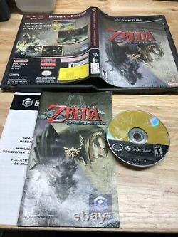 The Legend of Zelda Twilight Princess GameCube 2006 Complete