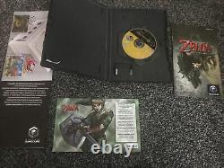 The Legend of Zelda Twilight Princess GameCube + Manual + VIP Card