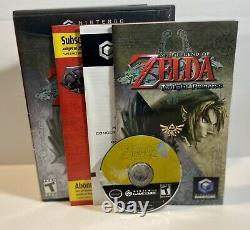 The Legend of Zelda Twilight Princess (Gamecube)100% CompleteWorks Great