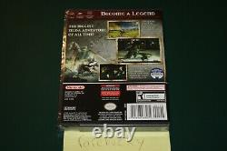 The Legend of Zelda Twilight Princess (Gamecube) NEW SEALED Y-FOLD MINT, RARE