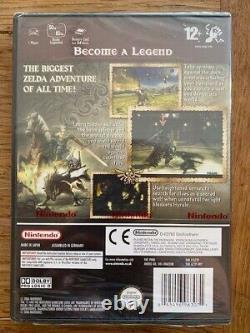 The Legend of Zelda Twilight Princess Gamecube Pal rare Brand New sealed