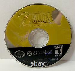 The Legend of Zelda Twilight Princess (Gamecube) Works Great! ShipsFast