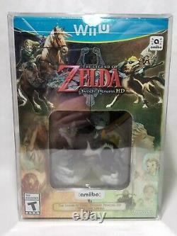 The Legend of Zelda Twilight Princess HD Amiibo Bundle (Nintendo Wii U, 2016)