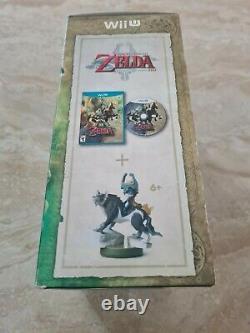 The Legend of Zelda Twilight Princess HD Amiibo Bundle Nintendo Wii U New Sealed