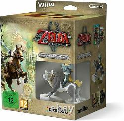 The Legend of Zelda Twilight Princess HD Limited Edition Box Nintendo Wii U NEW