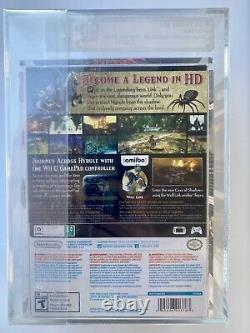 The Legend of Zelda Twilight Princess HD Limited Edition VGA 90+ Gold Graded